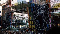concierto historico: cumple 35 anos el festival solidario live aid
