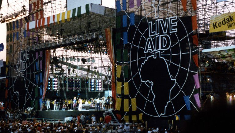 Concierto histórico: cumple 35 años el festival solidario Live Aid