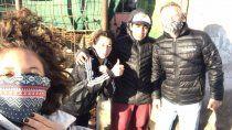 neuquina de primera: ailin franzante se sumo a obra solidaria de patagonia