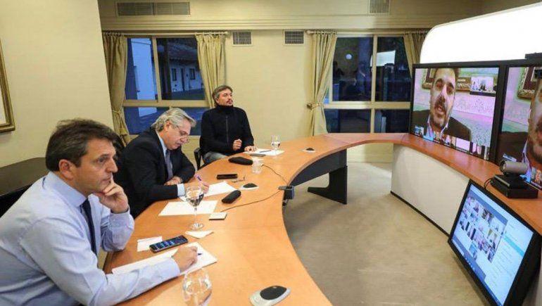 Fernández escuchó a legisladores de Juntos por el Cambio
