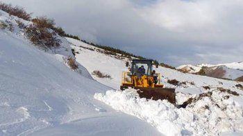 Rutas despejadas y asistencia en el interior por las nevadas