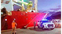 ushuaia: 57 tripulantes de un buque volvieron con covid-19