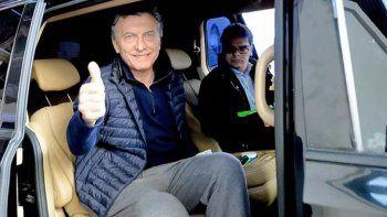 Macri fue operado por un pólipo en el intestino