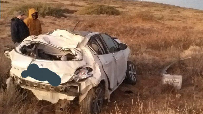 Cutral Co: murió una joven tras volcar en la Ruta 22