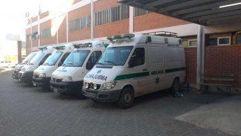 El foco del Castro Rendón afectó hasta las ambulancias