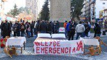 el sector del turismo protesto en reclamo de la emergencia