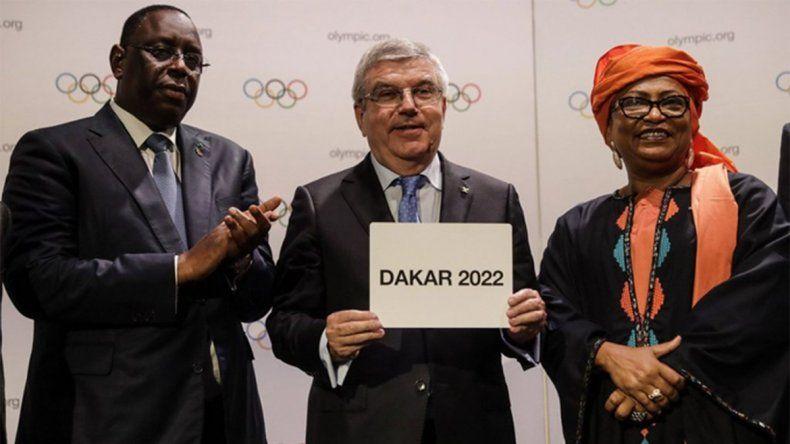 Suspendieron los Juegos de la Juventud de Dakar 2022