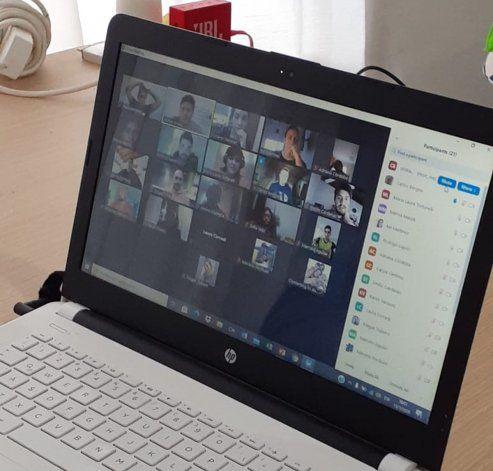 El zoom es la herramienta más utilizada para las capacitaciones online.