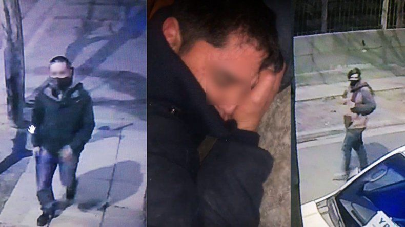 Presuntos ladrones que fueron identificados por sus víctimas.