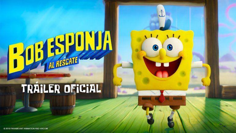 Netflix le gana al cine y estrena Bob Esponja: Al rescate