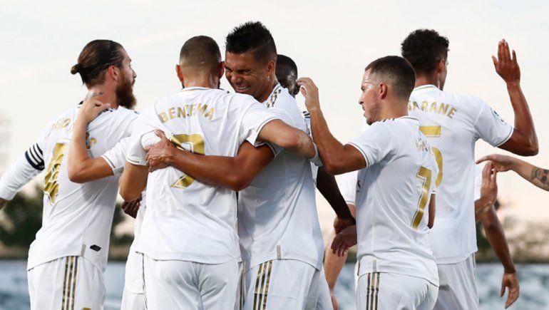 El Real Madrid se coronó en La Liga con un escandaloso penal
