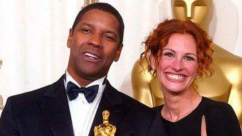 Julia Roberts y Denzel Washington protagonizarán film de Netflix