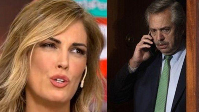 Viviana Canosa suma episodios a sus peleas con Alberto Fernández.