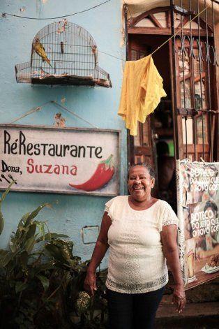 Doña Suzana en su