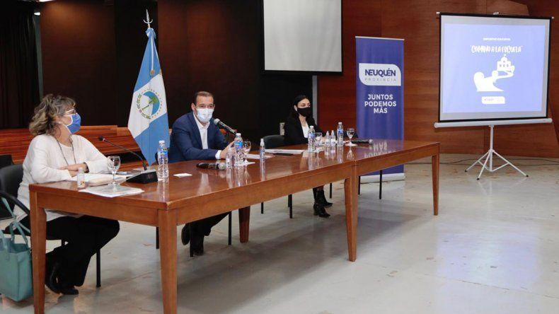 Gobierno presentó el plan para volver a las aulas en Neuquén