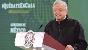 el presidente de mexico duda de la eficacia de los barbijos