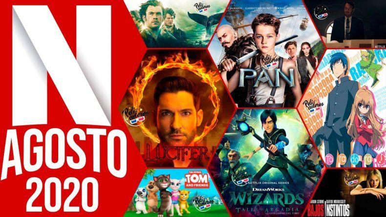 Netflix tiene los mejores estrenos para agosto ¡Conocélos!