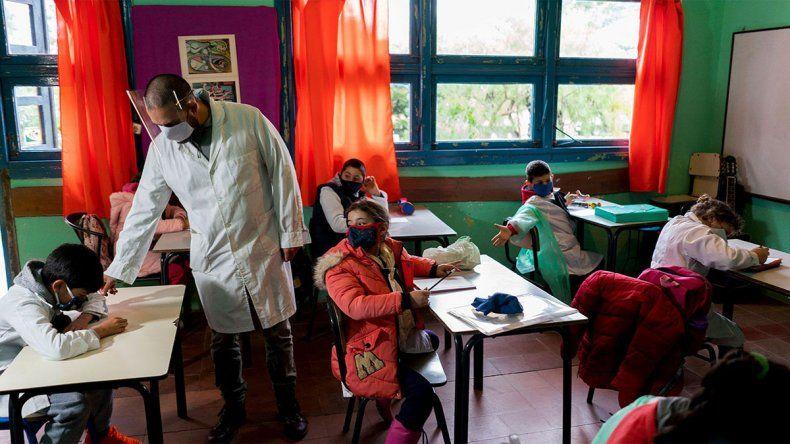 Con San Juan como prueba, la Patagonia se acerca a la vuelta a las aulas