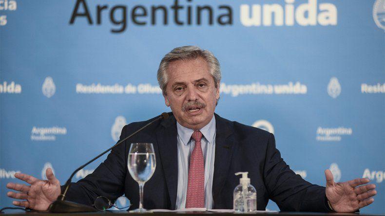 Alberto Fernández: Los dólares hacen falta para producir, no para guardar