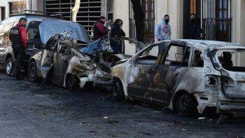 ¿quien fue? queman 14 vehiculos durante el fin de semana