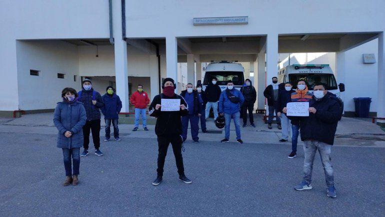Camilleros del Heller rechazan jornadas laborales de 12 horas