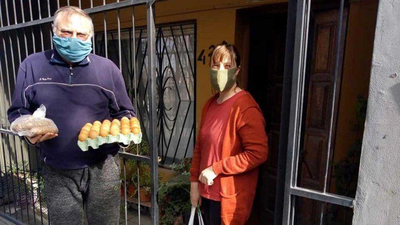 Canastas chineras: la feria de China Muerta se reedita para llegar a los hogares