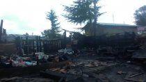 Incendio en Villa La Angostura