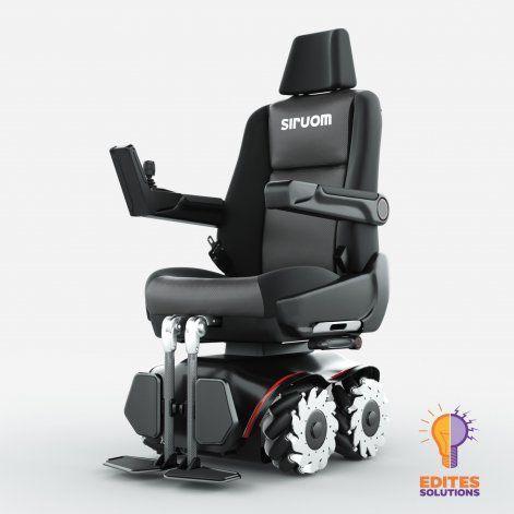 Prototipo de la silla de ruedas de <a href=