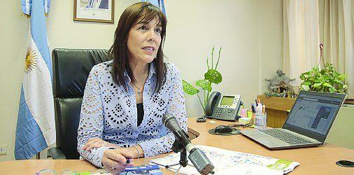 Marisa Focarazzo, ministra de Turismo de la provincia.