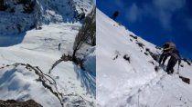 rio negro: rescataron a 25 chivas atrapadas en la nieve