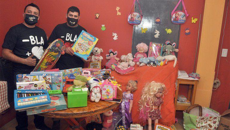 Quieren juntar 1000 juguetes para regalar en comedores y merenderos