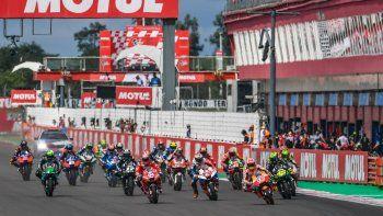 El Moto GP tenía presencia ininterrumpida en Argentina desde 2014 hasta la fecha, donde deberá hacer un alto por la pandemia.