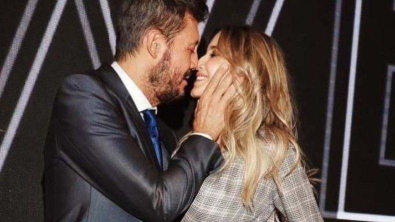 Tinelli y Guillermina mostraron buena onda en las redes y en los medios durante la ruptura.