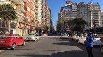 Mar del Plata es otra vez escenario de un dramático derrumbe de manpostería.