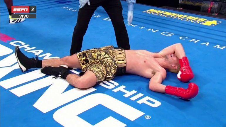 El brutal nocaut de George al boxeador argentino Escudero