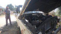cordoba: queman la camioneta a un sospechoso de covid-19