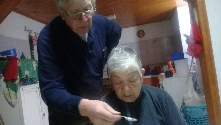 Los abuelos de Marcos y fundadores del almacén.