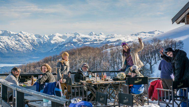 Hubo más de 500 esquiadores en el complejo Cerro Bayo