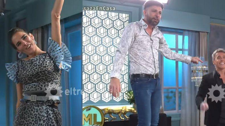 Martín Bossi y CAE hicieron un show en Almorzando con Mirtha Legrand