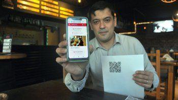 Restós con carta digital gracias a la app de un neuquino