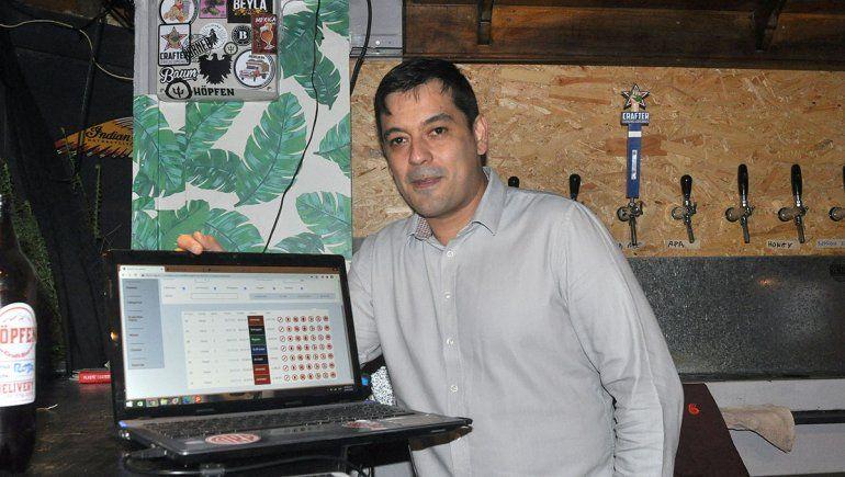 Franco es el creador de la carta digital.