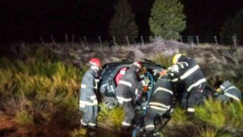 Dos heridos tras chocar con un caballo en la Ruta 40