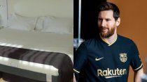Messi, colchón