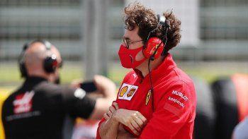 Mattia Binotto se centrará en el puesto de Jefe de Equipo dentro de Ferrari y saldrá de la dirección técnica de la escuadra de Fórmula 1.