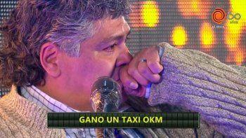 El llanto desconsolado del taxista que se llevó un 0Km en el ciclo de Guido Kaczka
