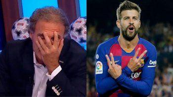Ruggeri mató a Piqué y la polémica llegó hasta España.