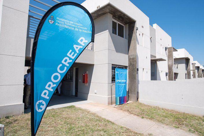 El Procrear permitirá la construcción de 44 mil nuevas viviendas y la adjudicación de 10 mil lotes con servicios.