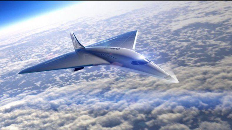 Mirá el Mach 3, el nuevo avión supersónico