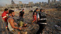 La capital del Líbano es desolación y muerte tras las explosiones del martes.