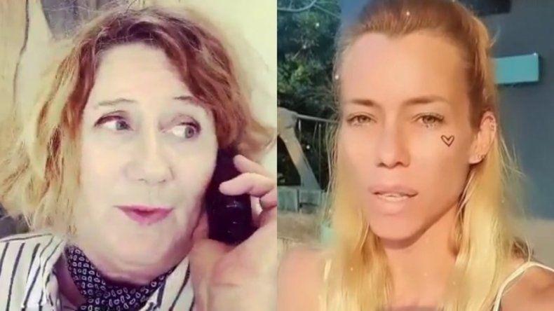 Llinás hizo una polémica parodia de Nicole